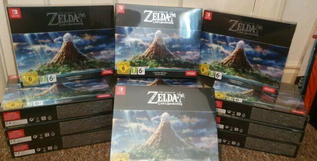 The Legend Of Zeldalink's Awakening Limited Edition, With 2 Rare Gifts Sold Out