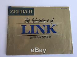 The Legend of Zelda 2 Adventure of Link OVP + Anl SEHR GUTER Z. NES CIB