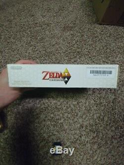 The Legend of Zelda A Link Between Worlds 3DS XL in box charger IPS Top screen