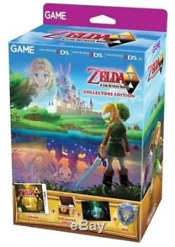 The Legend of Zelda A Link Between Worlds Collector's Edition Nintendo 3DS