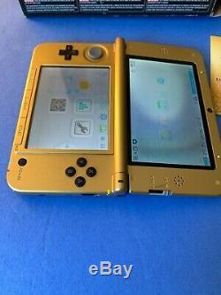 The Legend of Zelda A Link Between Worlds Gold and Black Nintendo 3DS XL System