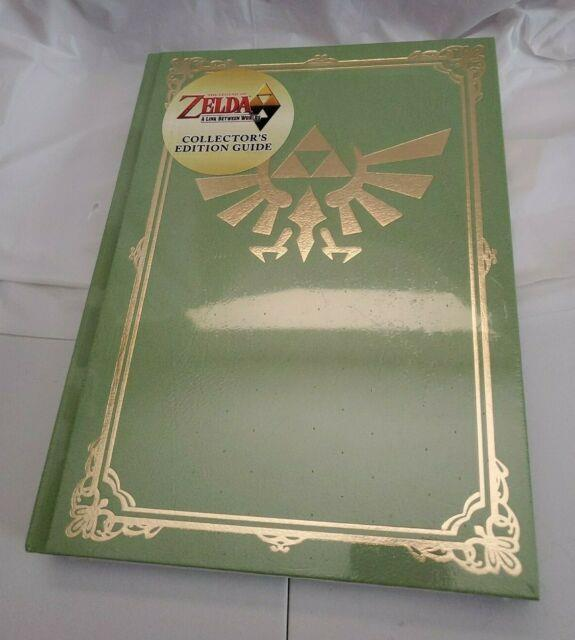 The Legend Of Zelda A Link Between Worlds Hardcover Collector's Guide New Sealed