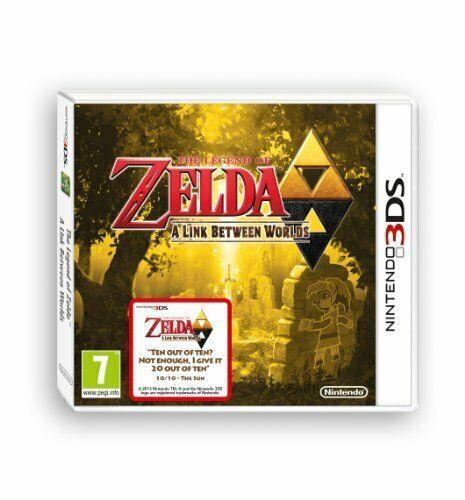 The Legend Of Zelda A Link Between Worlds (nintendo 3ds) Game 84vg The Cheap