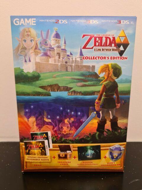 The Legend Of Zelda A Link Between Worlds-édition Collector Nintendo 3 Ds A+++