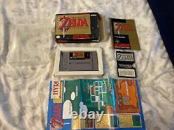 The Legend of Zelda A Link To The Past NTSC Super Nintendo SNES Complete CIB