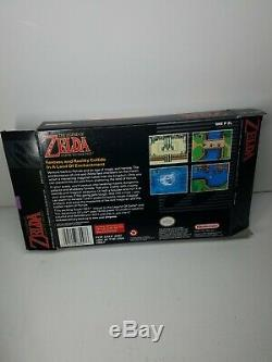 The Legend of Zelda A Link To The Past Super Nintendo CIB Complete VERY GOOD