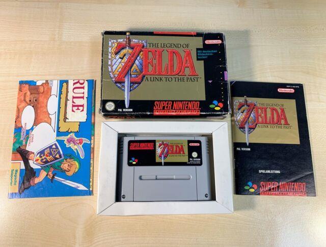The Legend Of Zelda A Link To The Past Super Nintendo Snes Spiel Ovp Gut