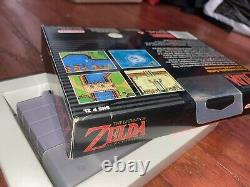 The Legend of Zelda A Link to The Past SNES Box