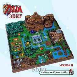 The Legend of Zelda A Link to the Past 3D RESIN MAP