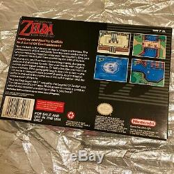 The Legend of Zelda A Link to the Past (Authentic CIB withManual) SNES NICE