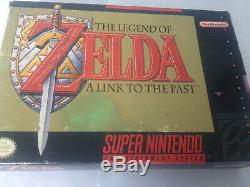 The Legend of Zelda A Link to the Past Complete in Box (Super Nintendo)