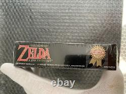The Legend of Zelda A Link to the Past NES H Seam Sealed VGA WATA Mint
