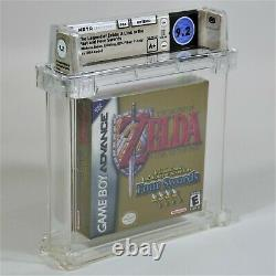 The Legend of Zelda A Link to the Past (Nintendo GBA) 1st Run Sealed WATA 9.2A+