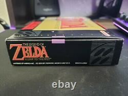 The Legend of Zelda A Link to the Past (Nintendo SNES) Complete CiB Authentic