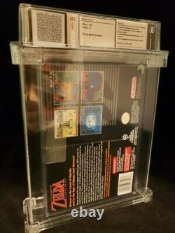 The Legend of Zelda A Link to the Past Player's Choice SNES WATA 9.0 A S