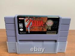 The Legend of Zelda A Link to the Past Players Choice SNES CIB Complete in Box