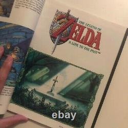 The Legend of Zelda A Link to the Past Players Guide (SNES) with maps/insert