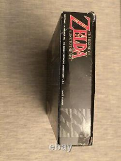 The Legend of Zelda A Link to the Past (SNES, 1992) Complete with Box Manual Map