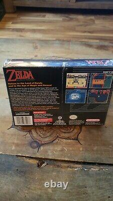 The Legend of Zelda A Link to the Past (SNES, 1992) ORIGINAL, FACTORY SEALED
