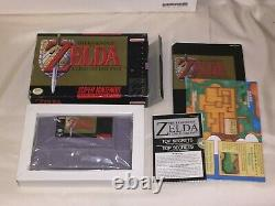 The Legend of Zelda A Link to the Past (SNES) CIB