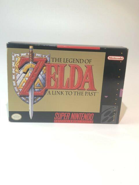 The Legend Of Zelda A Link To The Past Snes Cib Box Manual Map Near Mint A8
