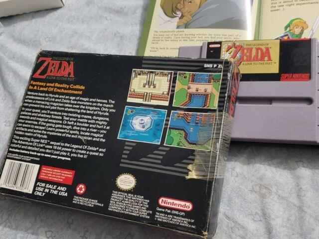 The Legend Of Zelda A Link To The Past Snes Complete + Map Included No Reserve