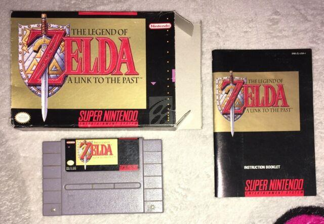 The Legend Of Zelda A Link To The Past (snes) English Cib