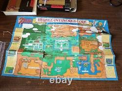 The Legend of Zelda A Link to the Past SNES With Box Manual Map
