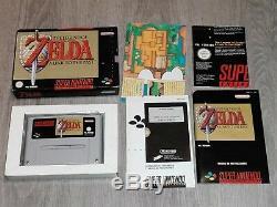 The Legend of Zelda A Link to the Past Snes Super Nintendo Pal España COMPLETO