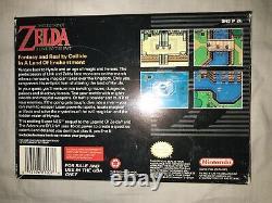 The Legend of Zelda A Link to the Past (Super Nintendo, 1992) CIB! Complete