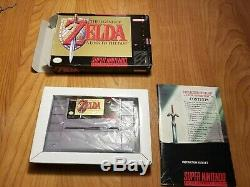 The Legend of Zelda A Link to the Past (Super Nintendo) Game lot of 6 games