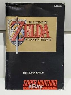 The Legend of Zelda A Link to the Past (Super Nintendo) SNES CIB with Top Secrets