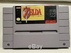 The Legend of Zelda A Link to the Past (Super Nintendo) SNES CIB with Top Secrets