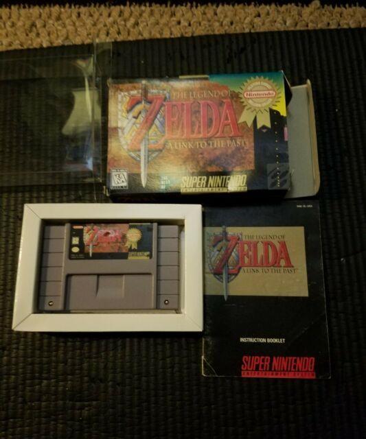 The Legend Of Zelda A Link To The Past (super Nintendo Snes) Cib