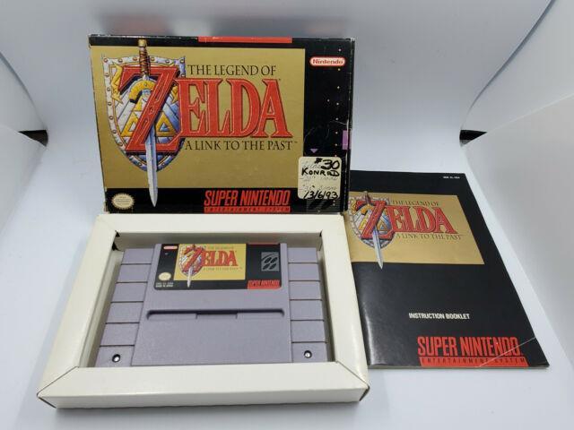 The Legend Of Zelda A Link To The Past (super Nintendo) Snes Complete Cib