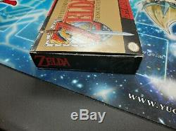 The Legend of Zelda A Link to the Past (Super Nintendo, SNES) Complete in Box