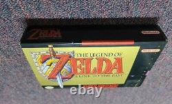The Legend of Zelda A Link to the Past (Super Nintendo) SNES (Complete in Box!)