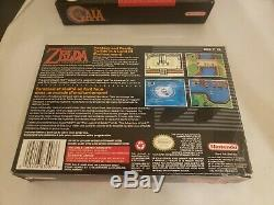 The Legend of Zelda A Link to the Past Super Nintendo SNES Complete in Box CIB