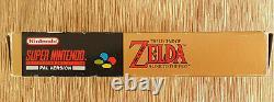 The Legend of Zelda A Link to the Past Super Nintendo SNES PAL Map Secrets