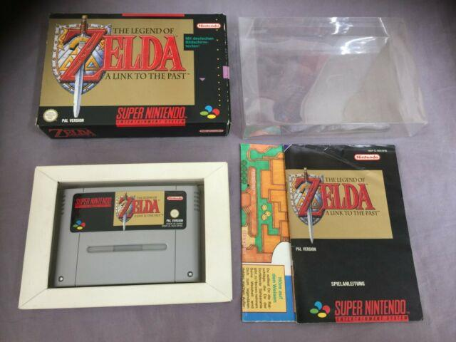 The Legend Of Zelda A Link To The Past Super Nintendo Snes Pal Boxed Ovp
