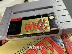 The Legend of Zelda A Link to the Past Super Nintendo SNES complete in box