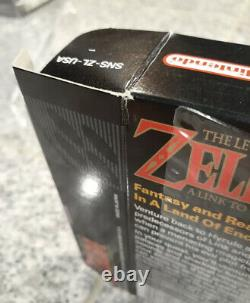 The Legend of Zelda A Link to the Past Super SNES CIB Not Sealed NM Near Mint