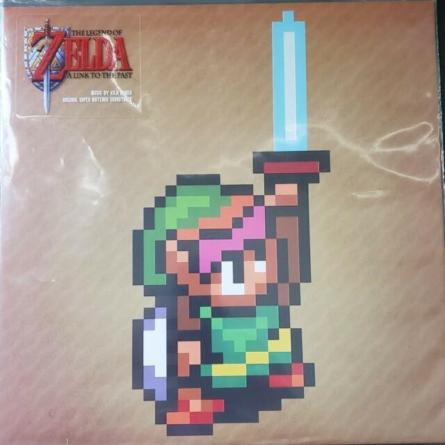 The Legend Of Zelda A Link To The Past Video Game Soundtrack Blacksplatter Vinyl
