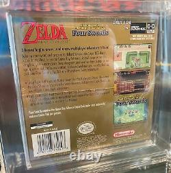 The Legend of Zelda A Link to the Past and Four Swords GBA Sealed WATA 8.0 A+