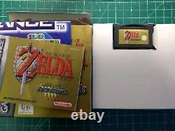 The Legend of Zelda A Link to the Past for Gameboy Advance complete AU PAL