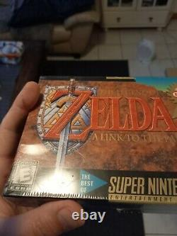 The Legend of Zelda A Link to the Past players choice SEALED super nintendo