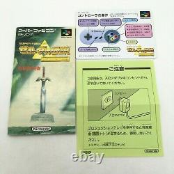 The Legend of Zelda A Link to the Past withBox and Manual Super Famicom Japan