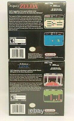 The Legend of Zelda + Adventures of Link (Game Boy Advance GBA) Brand New Sealed