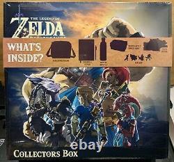 The Legend of Zelda Breath of The Wild Collector's Box Nintendo Link