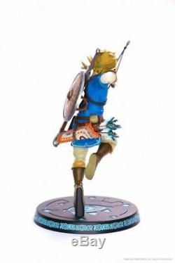 The Legend of Zelda Breath of The Wild Statuette Link figurine F4F 25cm 620830